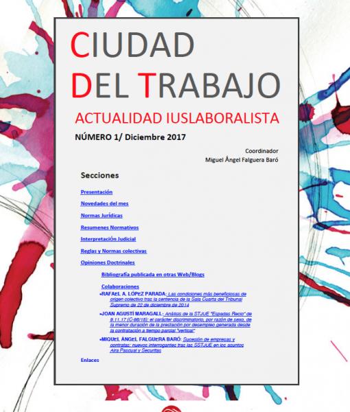 Ciudad del Trabajo Número 1 - Diciembre 2017