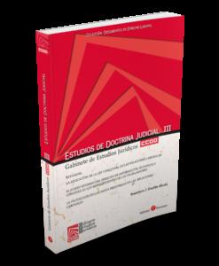 Estudios de doctrina judicial III