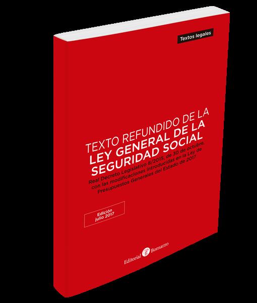 Ley General de la Seguridad Social julio 2017