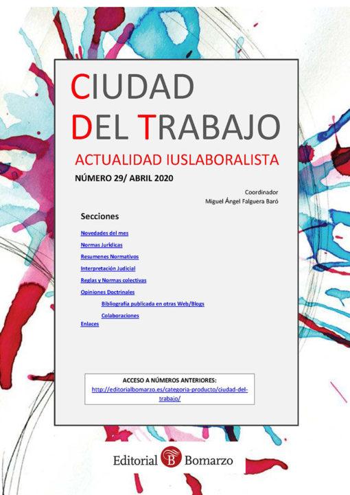 Ciudad del Trabajo Número 29 - Abril 2020
