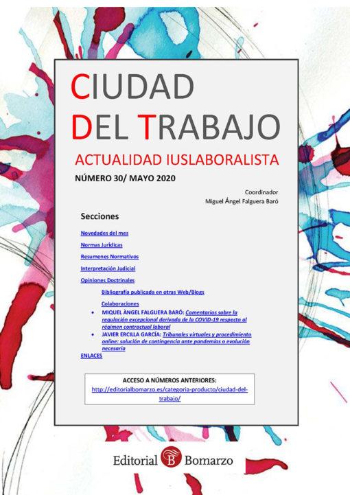 Ciudad del Trabajo Número 30 - Mayo 2020