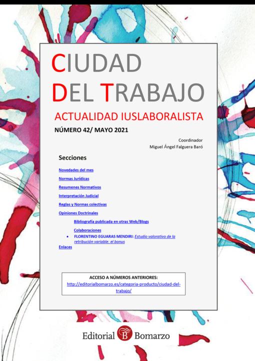Ciudad del Trabajo Número 42 - Mayo 2021