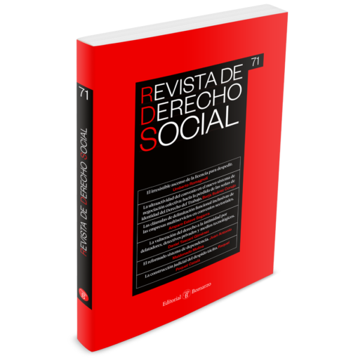 Revista de Derecho Social número 71